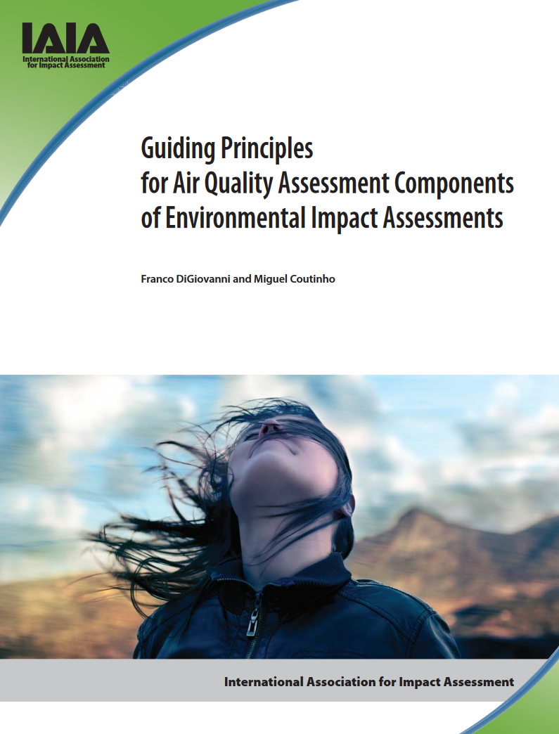 Cover of Guiding Principles document